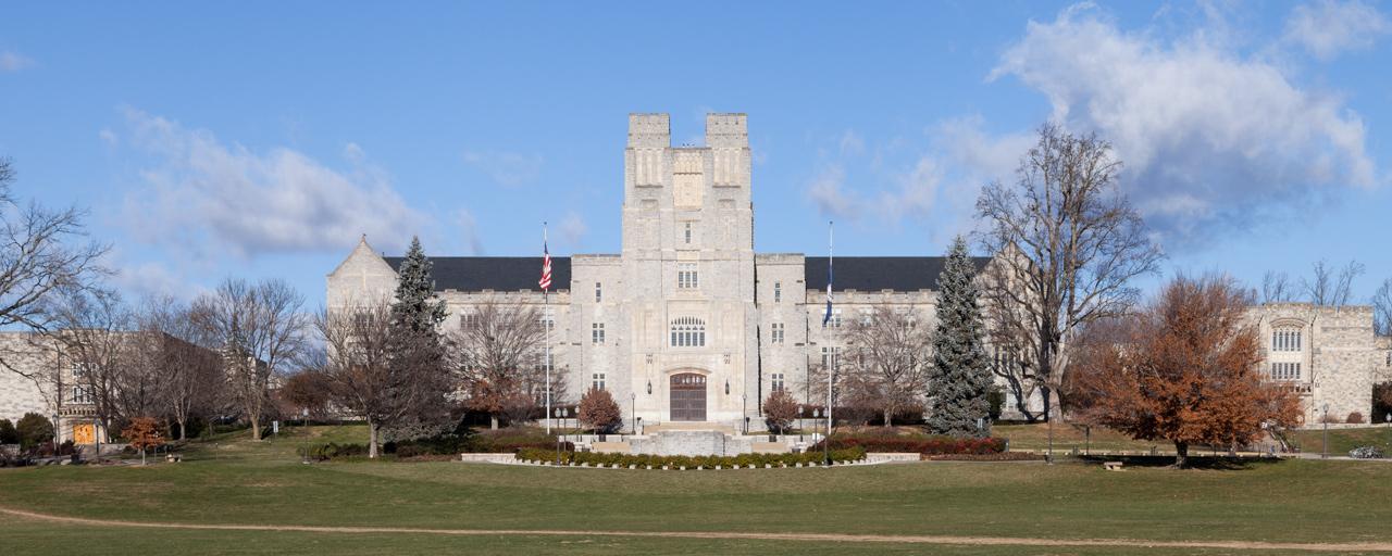 Burruss Hall image